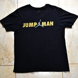 dd3a89dec25 Image is loading Black-Jordan-Jumpman-T-Shirt