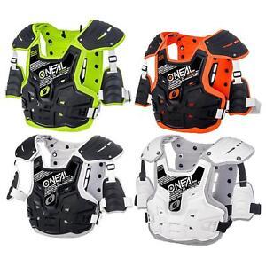 Oneal Pxr Stone Shield Protecteur Veste Poitrine Chars Protection Motocross Mtb Dh Mx-afficher Le Titre D'origine