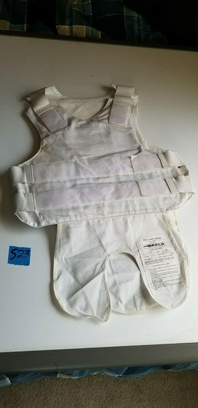 Tactical PACA Body Armor Vest ZGII Level II  Level 2 Soft Body Armor + Garment  gorgeous