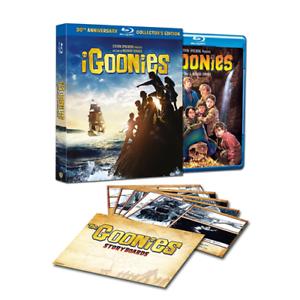 Box-I-GOONIES-30th-Anniversary-Collector-039-s-Edition-Blu-ray-sigillato