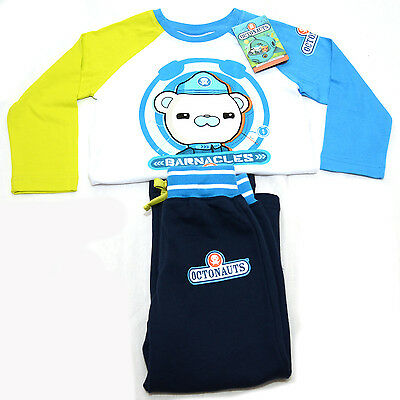 Octonauts Boys Clothing Set Long Sleeves Barnacles Top & Pants Barnacles Size 2