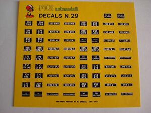 DECALS-KIT-1-43-TARGHE-FERRARI-250LM-DINO-365-330-400-275-500-N-29-GENERICA
