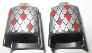 Playmobil-Lot-Bustes-torses-chevalier-soldat-chateau-moyen-age-NEUF