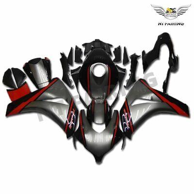 New White Black Injection Plastic Fairing Fit for Honda 2008-2011 CBR1000RR k20