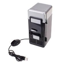 PC USB Mini Refrigerator Fridge Beverage Drink Can Cooler Warmer ED