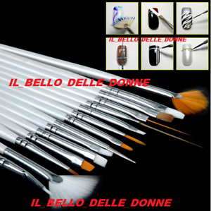 Ronney Professional Gel Brush №10 - Pennello per nail art