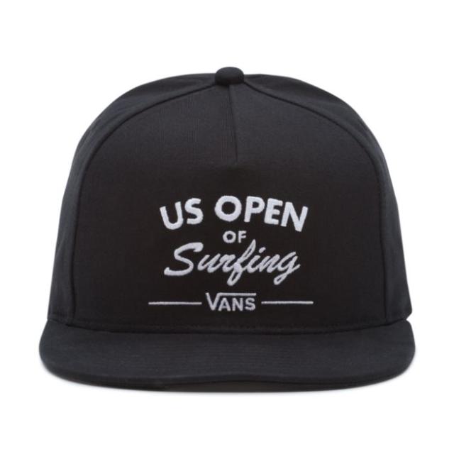 71b311d182cf VANS US Open of Surfing Hat (new) Vuso Type 2018 Black Snapback HB ...