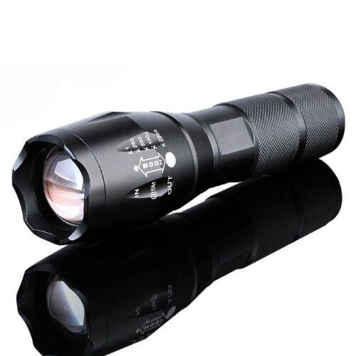 Nouveau DEL 18650//AAA Lampe de Poche Zoomable Torche focus lampe de poche lampe USA