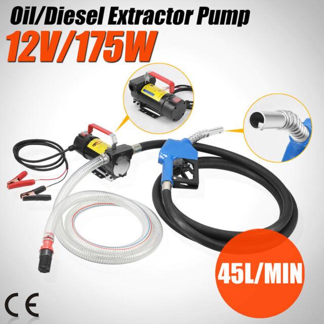 Electric fuel oil Diesel Pompe de transfert 12 V