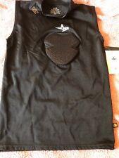 All-Star D30 Housse De Protection Coeur Bouclier Corps Shirt Youth L//XL Noir Fast Ship B62