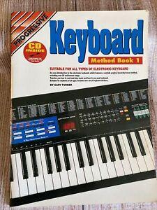 Progressive Keyboard: Method Book 1 By Gary Turner ~ combined postage $10