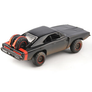 Jada-Fast-amp-Furious-1970-CARICABATTERIE-OFF-ROAD-1-32-Modello-Pressofuso-Auto-Nera-Giocattolo