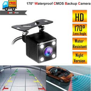 170° Waterproof Car Front View Reverse Backup Reversing Parking Back Up Camera Consumer Electronics