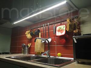 Barra Led Sotto Pensile Sottopensile x Cucina Tagliata su misura ...