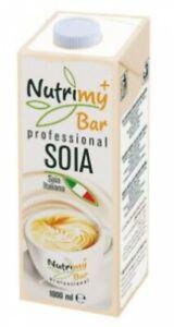 NUTRIMY BAR PROFESSIONAL SOIA 1000 ML UHT EDGE - 6 unità da 1 litro