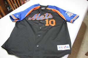 CAMISETA-OFICIAL-VINTAGE-BEISBOL-MLB-METS-DE-NY-MAJECTIC-T-XL-N-10-REY-ORDONEZ