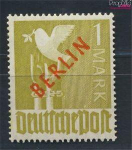 Berlin-West-33-geprueft-postfrisch-1949-Rotaufdruck-9223649