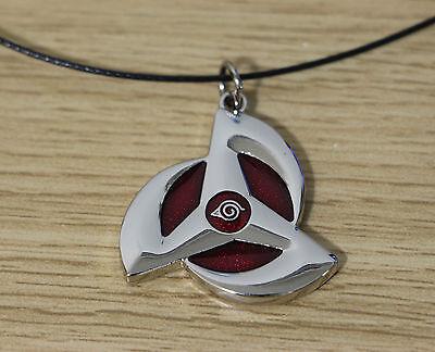 NEW!sale Naruto Akatsuki Necklace Anime Cosplay the wheel eye Necklace