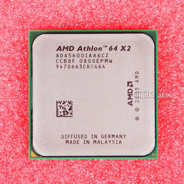 AMD Athlon 64 X2 5600+ 2.8 GHz Socket AM2 CPU Processor ADA5600IAA6CZ Promotion