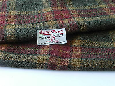 Harris Tweed Fabric Material & labels  - various Sizes - ref.f23