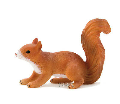 FREE SHIPPING | Mojo Fun 387032 Squirrel Running Realistic Toy - New in Package