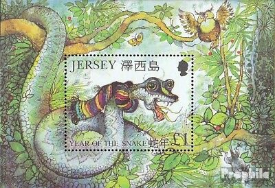 United Kingdom-jersey Block28 (complete Issue) Unmounted Mint / Never Hinged 200