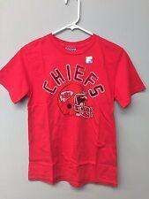 Kansas City Chiefs Youth Distressed TShirt Size: L