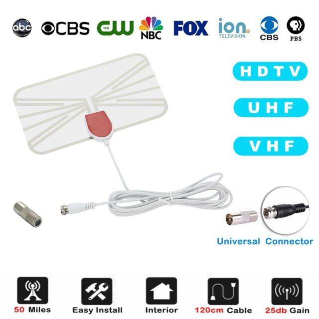 Digital-Fernsehantenne HDTV Empfänger Antenne VHF UHF Radius Brandung DVB-T2 DE