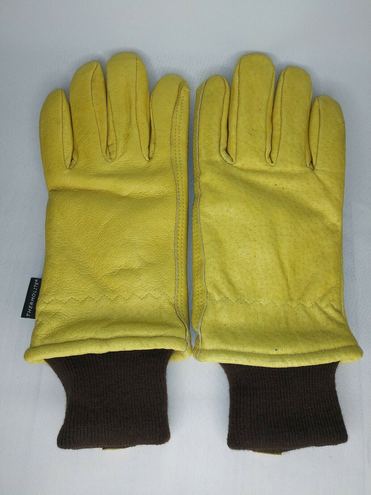 Midwest Gloves and Gear 609TLKW-M-AZ-6 Cowhide Leather Work Glove with Thermolite Lining Medium