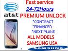 SAMSUNG UNLOCK CODE SERVICE GALAXY S7, S6, NOTE 5, 4, 3, ACTIVE & EDGE ATT AT&T