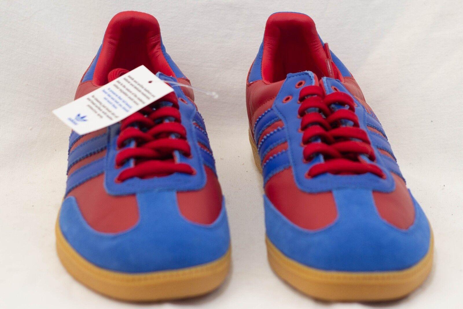 Adidas West Ham United FC shoes 10 US Claret bluee COYI on side