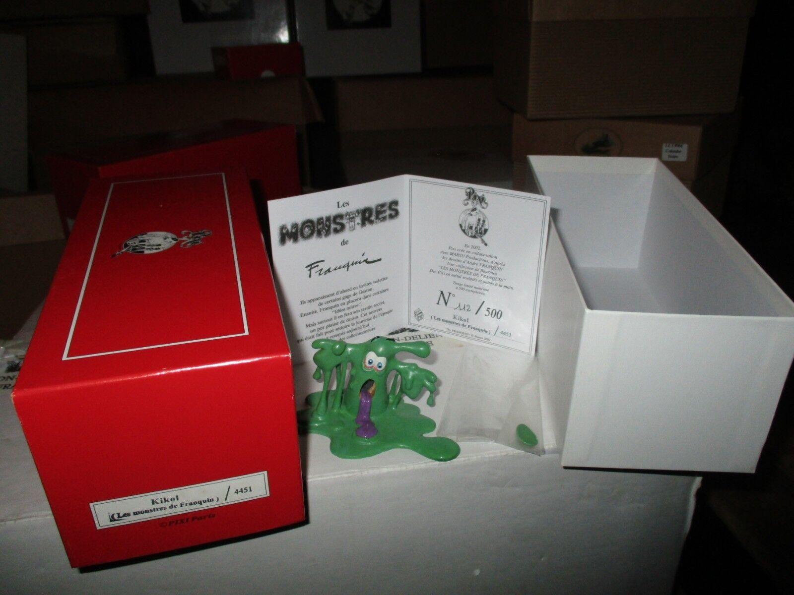 Franquin- Pixi - The Munsters von von von Franquin-Kikol-500 Exemplaire-Boite&certif ddbf97