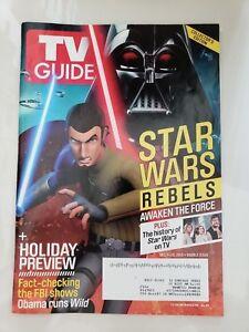 TV-GUIDE-STAR-WARS-REBELS-COLLECTOR-039-S-EDITION-SPECIAL-Dec-7-20-2015-DARTH-VADER