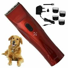 Professional Pet Hair Clippers Trimmer Grooming Kit Dog Cat Easy Cut Animal Long