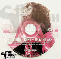 Zumba Dvd Only 30 Minute Burn + Abs Shipped In Jewel Case For Protection