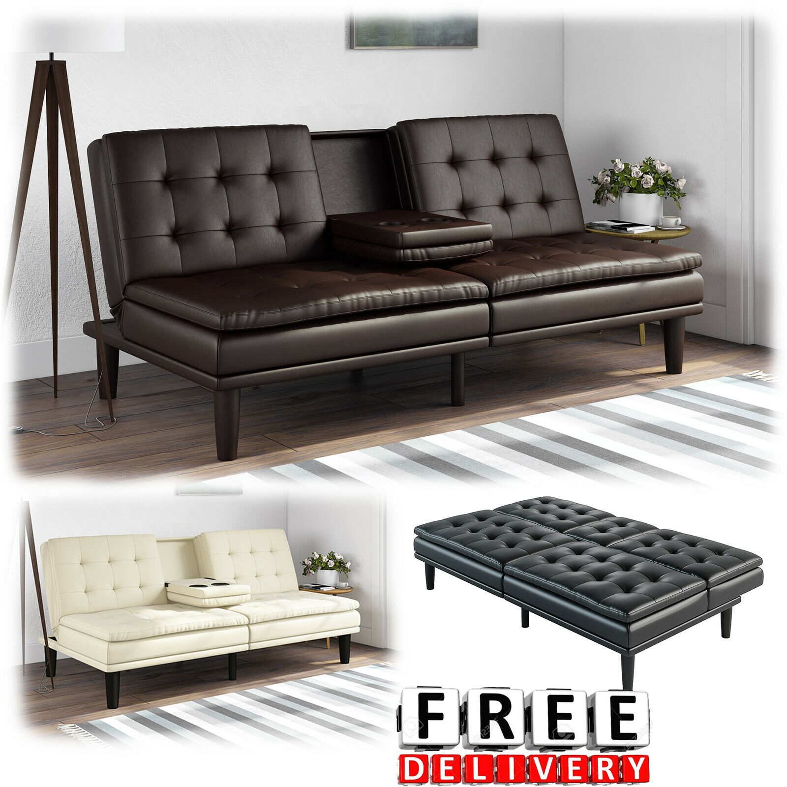 Sofa Bed Couch Convertible Futon