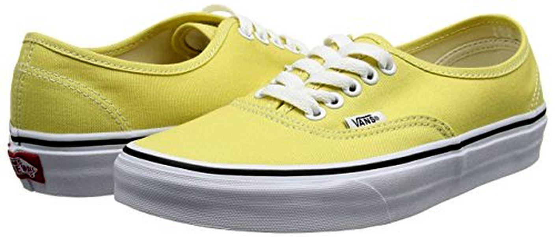 Vans Buthentic Canvas Skate Herren Schuhe Boots EU42 US9 VN0B38 EMOUX CL032 Gelb