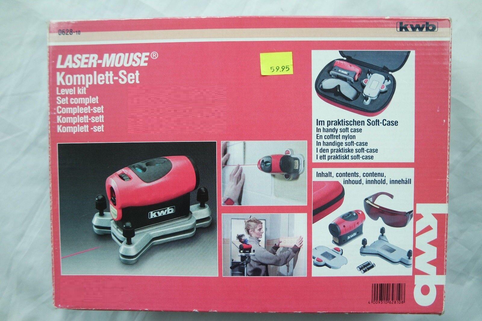 Makita Laser Entfernungsmesser : Laser mouse komplett set inkl. softcase ebay