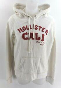 Hype Damen Hoodie Pullover 6 weiß Baumwolle & Polyester