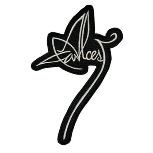 Authentic ALCEST Logo Sew On Glue On Embroidered Patch NEW