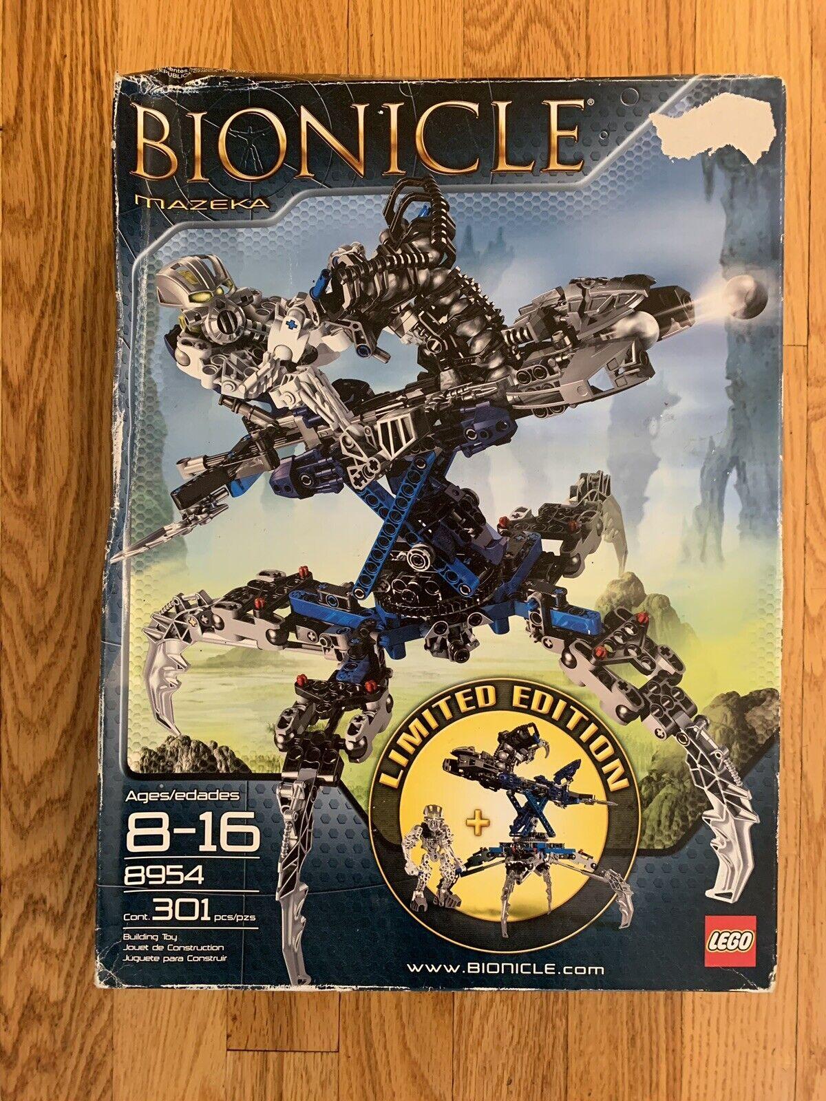 Lego  Bionicle Limited edizione 8954 MAZEKA Set Walmart Exclusive nuovo in scatola  edizione limitata a caldo