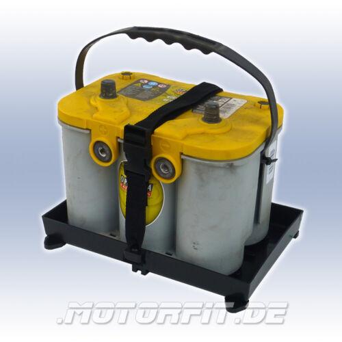 Batterie Support Avec Ceinture Et Baignoire 330 x 178 mm Batterie Support Optima