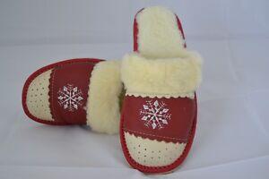 7a79e2ccc20a5 ... Pantoufles-mules-chaussons-babouche-Femme-100-Laine-pointure-
