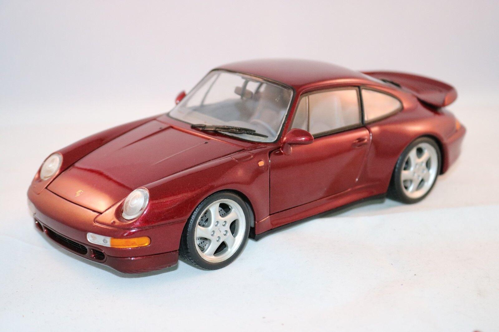UT Models Porsche 911 Turbo 1 18 i mint skick
