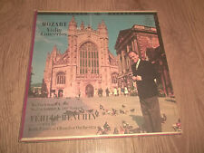MOAZRT VIOLIN CONCERTOS ~ YEHUDI MENUHIN ( ANGEL STEREO ) VINYL LP S 35745 EX/VG