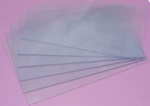 Fellowes 300 PVC Binding Cover Micron Transparent