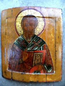 16C Antique Russia Russian Yaroslavl Icon signed by Expert