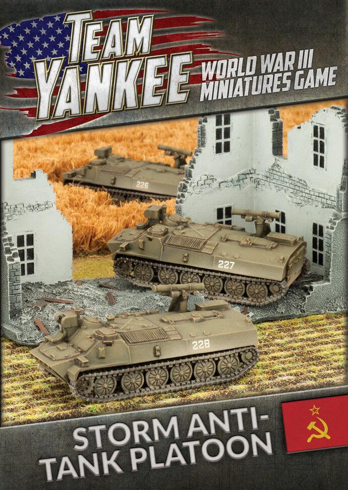 Storm Anti-tank Platoon (x3) Battlefront Miniatures