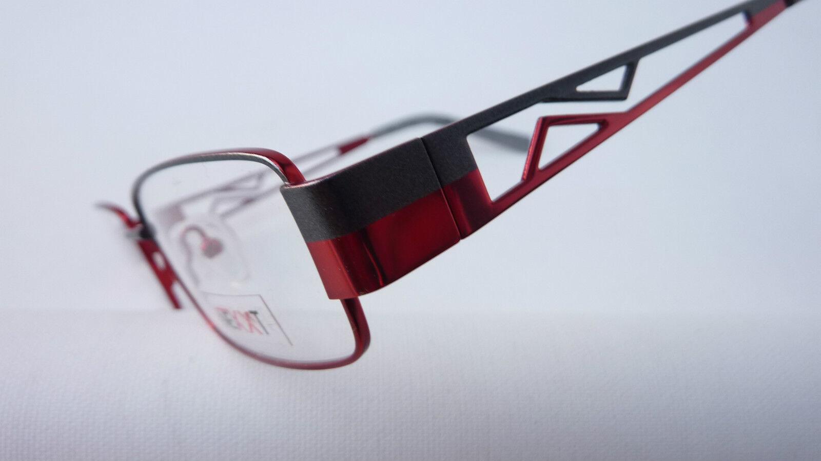 Nexxt grau-rote Metallbrille Damen Herren Herren Herren mit Decorbügel filigran 52-16 Größe M | Günstigen Preis  3d4bbe