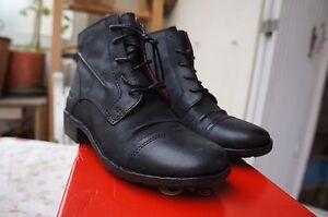 Kickers Groovelace,boots ,Bottines femme, Noir, 36 EU